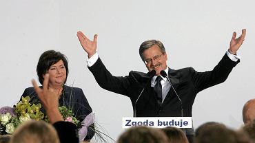 Radość Bronisława Komorowskiego
