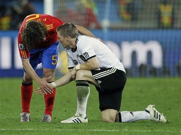 Półfinał MŚ w RPA< Hiszpania - Niemcy 1:0