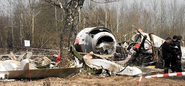 11 kwietnia 2010r., wrak prezydenckiego samolotu, który rozbił się pod Smoleńskiem