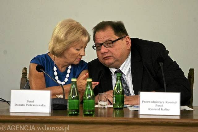 Danuta Pietraszkiewicz i Ryszard Kalisz