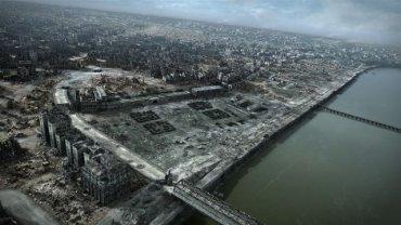 """Kadr z filmu """"Miasto ruin"""""""