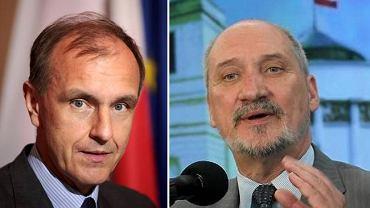 Bogdan Klich i Antoni Macierewicz