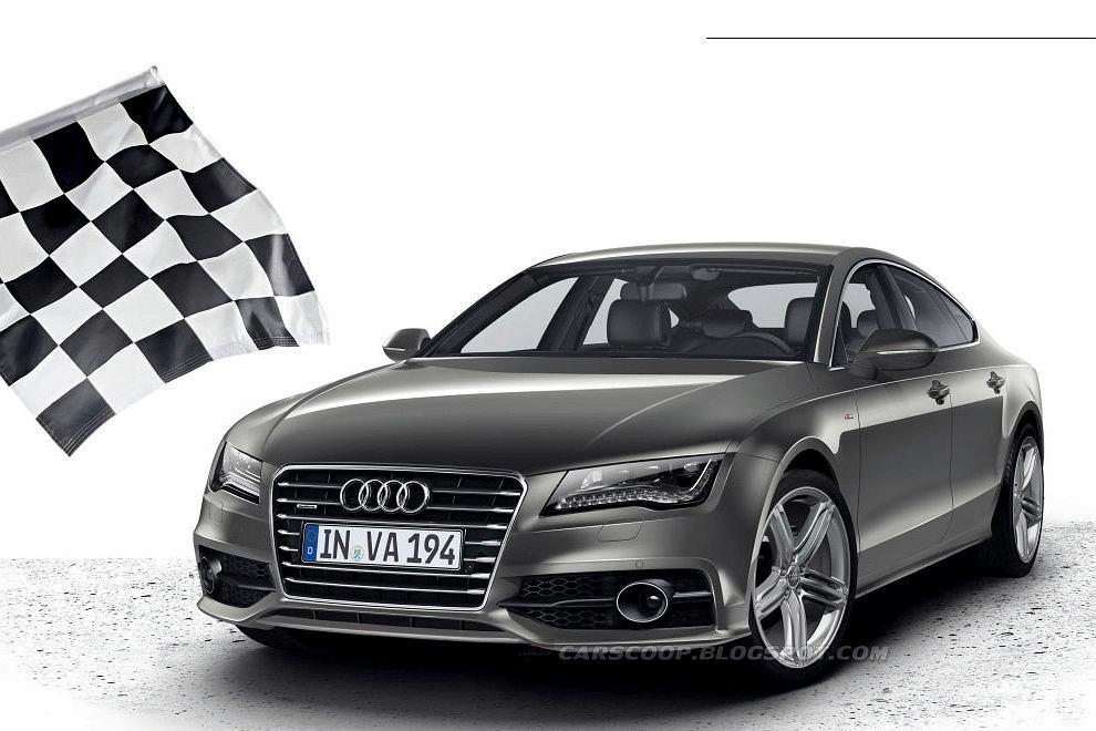 Audi A7 z pakietem S-Line