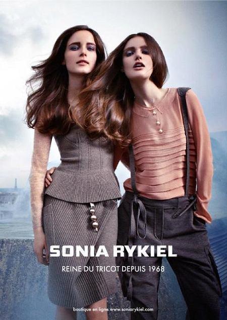Kampania reklamowa marki Sonia Rykiel na jesień/zimę 2010/2011