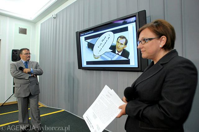 Beata Kempa i Andrzej Dera zapowiedzieli podczas konferencji prasowej stworzenie własnego raportu z prac komisji hazardowej