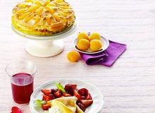 Naleśnikowy tort morelowy - ugotuj