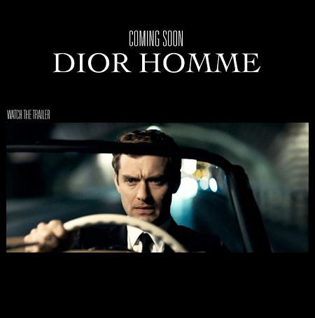 Jude Low w reklamie Diora