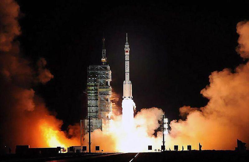 Start misji Shenzhou 7