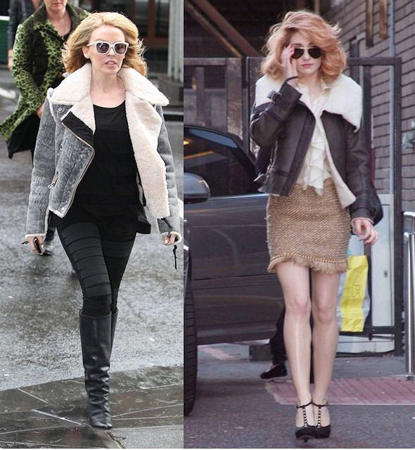 Kylie Minogue, Nicola Roberts