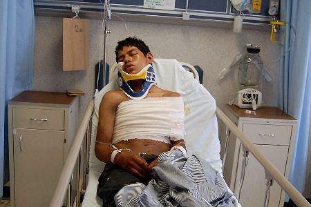 Luis Fredy Lala Pomavilla - jedyny świadek masakry