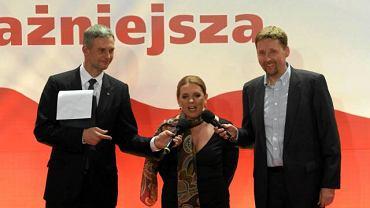 Paweł Poncyljusz, Elżbieta Jakubiak i Marek Migalski