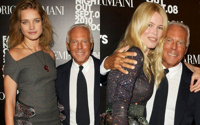 Impreza Giorgio Armaniego w Londynie zgromadziła wiele gwiazd, a przede wszystkim pięknych kobiet.