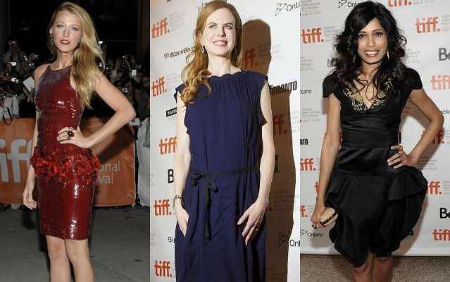 Na festiwalu filmowym w Toronto pojawiła się cała plejada hollywoodzkich i europejskich gwiazd filmowych. Zobaczcie, w co się ubrały największe sławy.