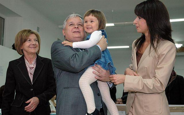 Lech Kaczyński, Maria Kaczyńska, Marta Kaczyńska