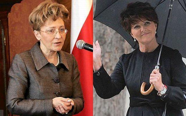 Elżbieta Radziszewska i Jolanta Kwaśniewska