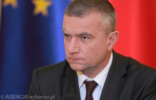 Paweł Graś, były rzecznik rządu Donalda Tuska
