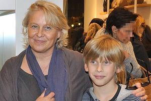Joanna Sarapata z synem Jovanem