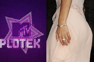 Pupa J.LO i logo programu MTV Plotek