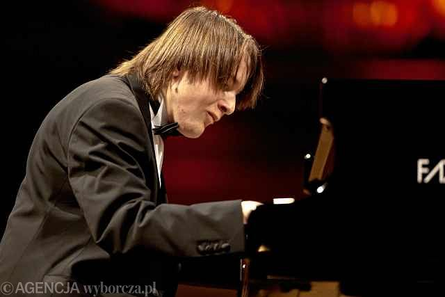 Daniil Trifonow podczas koncertu w III etapie Konkursu Chopinowskiego z 2010 roku