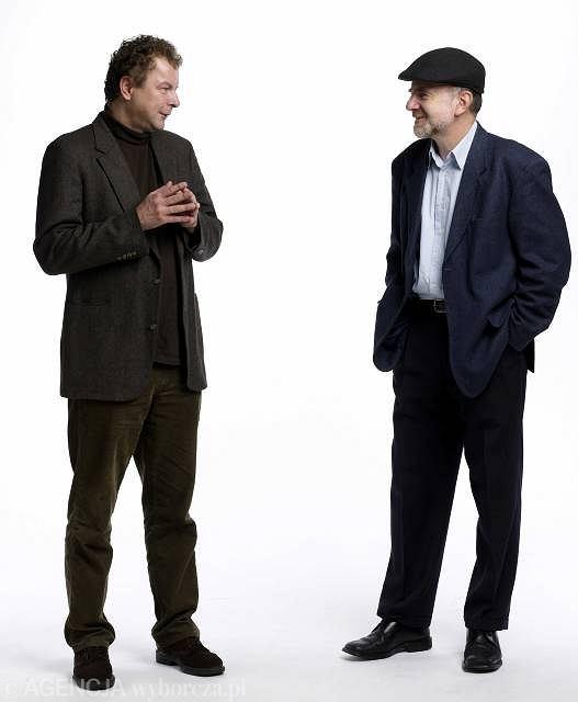 Tadeusz Pióro i Marek Bieńczyk