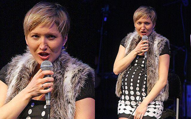 Magda Steczkowska w ciąży