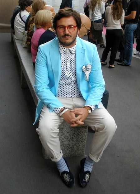 marynarka - Piombo, koszula - Piombo, spodnie - Replay, mokasyny - Cesare Paciotti