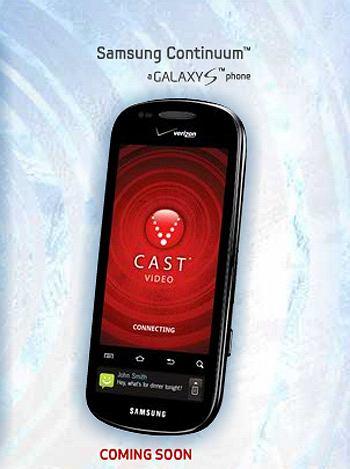 Telefon Samsung Continuum
