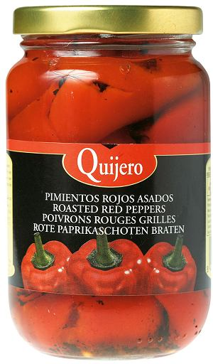 hiszpańskie specjały - papryka konserwowa (pimientos rojos asados)