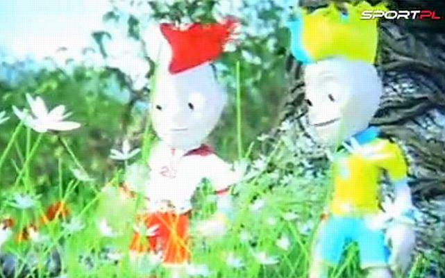 Prezentacja maskotek na Euro2012