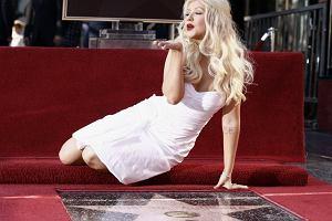Christina Aguilera odsłoniła swoją gwiazdę w hollywoodzkiej Alei Sław.