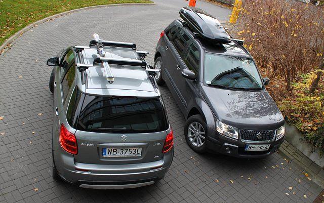 Suzuki SX4 i Grand Vitara to - dzięki skutecznemu napędowi 4x4 - świetne auta na narciarskie wyprawy