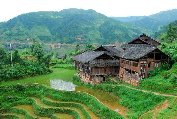 Południowe Chiny - prowincja Guangxi