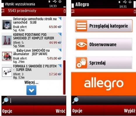 Mobilne Allegro