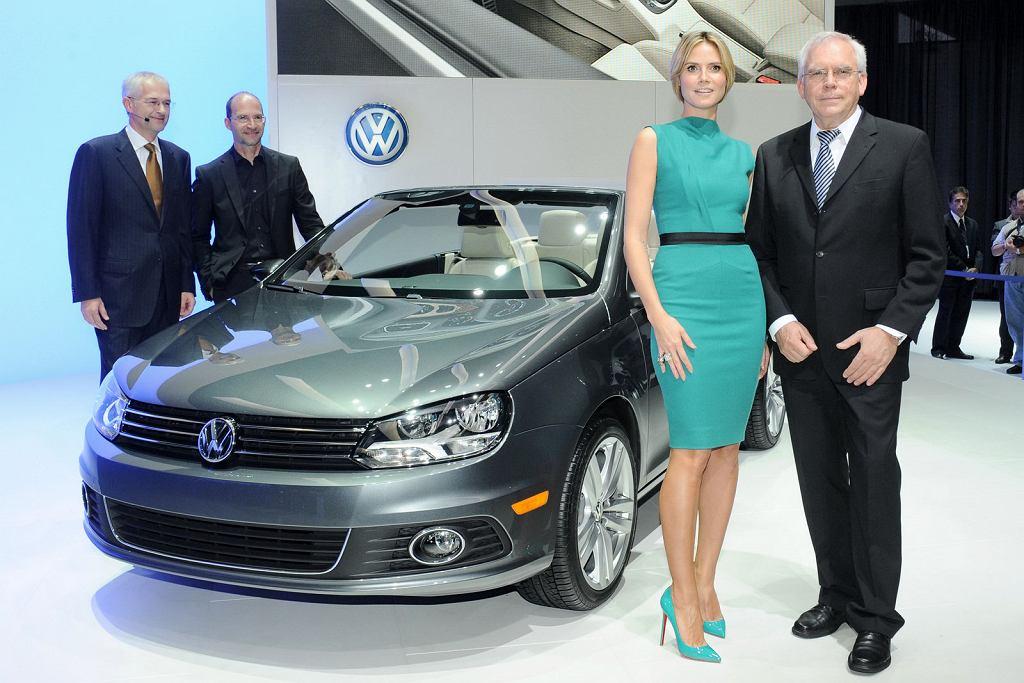Volkswagen Eos i Heidi Klum