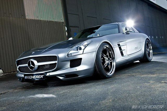 Kicherer Mercedes SLS AMG Supersport