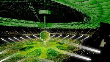 Wizualizacja imprezy na otwarcie Stadionu Narodowego w Warszawie