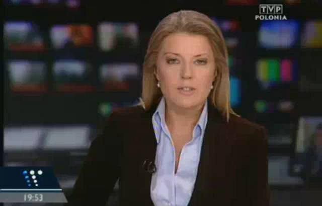Malgorzata Wyszyńska, szefowa Wiadomosci TVP