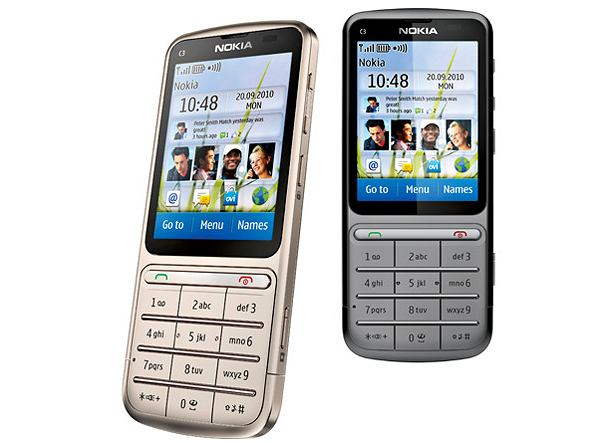telefon Nokia C3