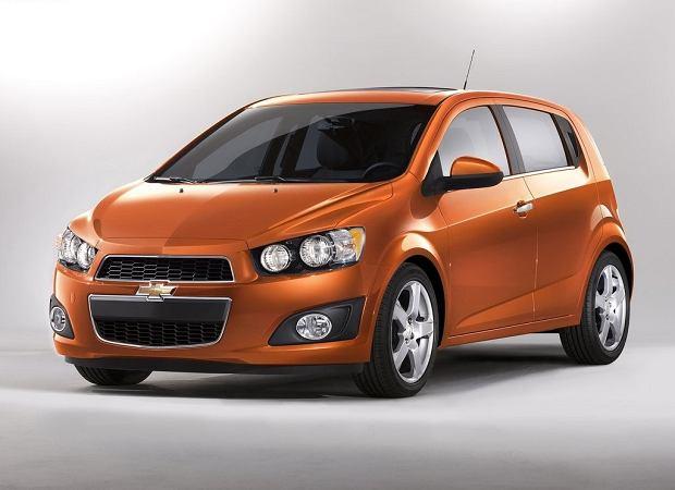 Chevrolet Sonic bez hamulców