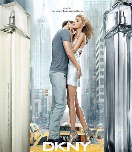 Anja Rubik w nowej kampanii reklamowej perfum DKNY
