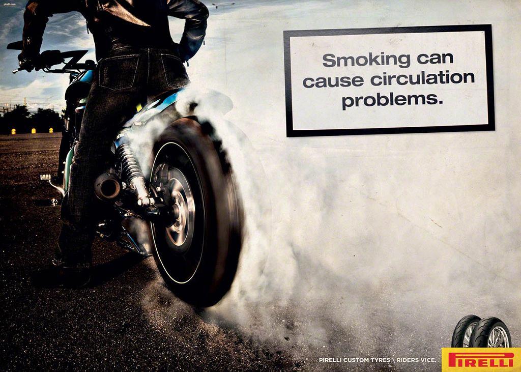 Palenie gumy szkodzi