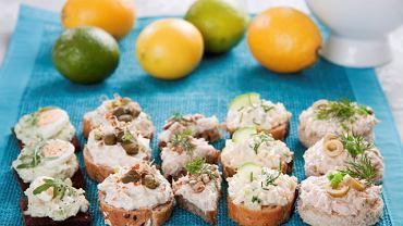 Pasta z oliwek i twarożku