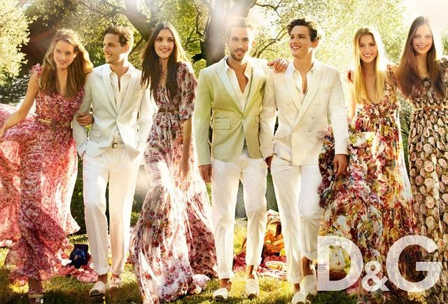 kampania D&G wiosna/lato 2011