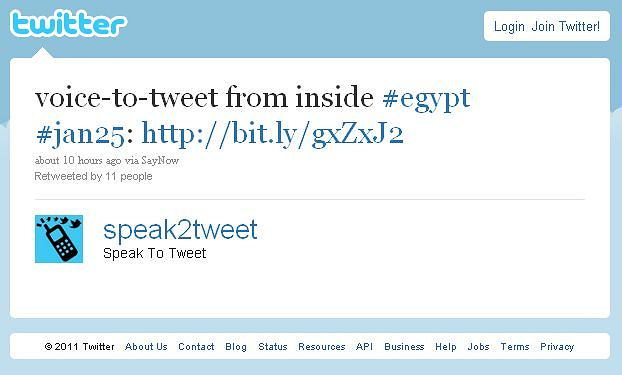 Głosowe wysyłanie tweetów