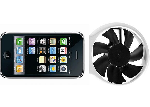 iFan to koncept alternatywnego pozyskiwania energii potrzebnej do naładowania iPhone'a