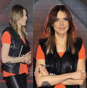 Maja Sablewska w X-Factor, skóra