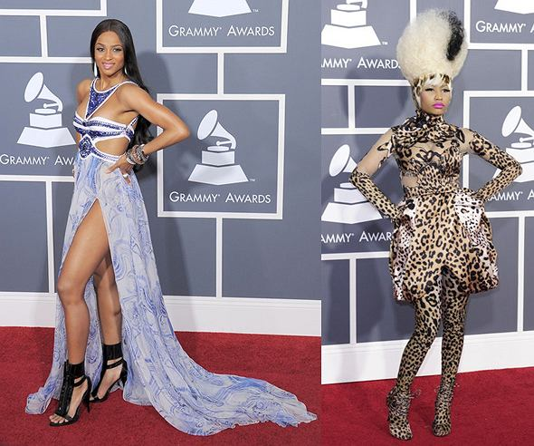 Ciara i Hayley Williams na Grammy 2011