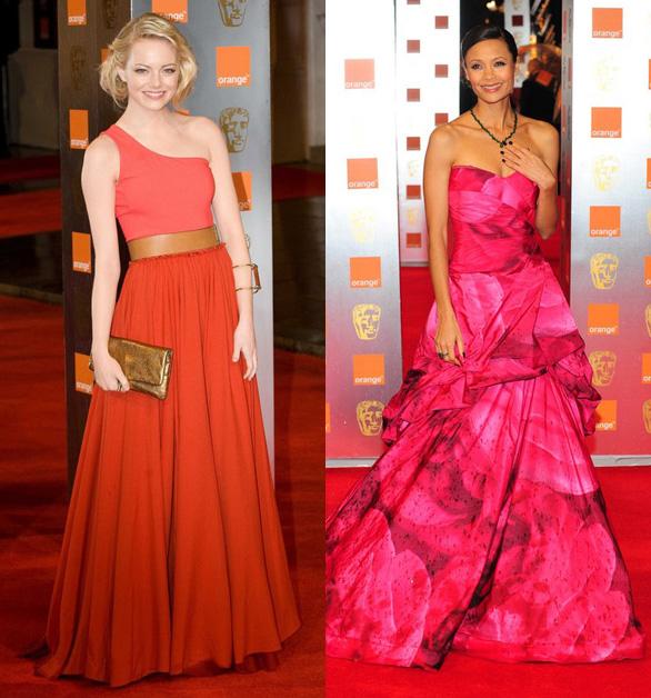 Najlepsze kreacje na wręczeniu nagród BAFTA 2011, czerwony dywan, suknie, kreacje, gwiazdy