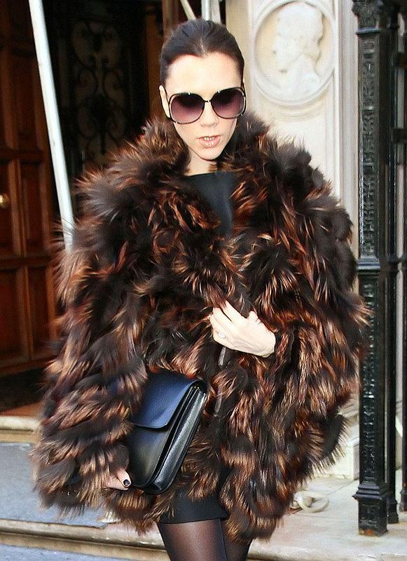 Victoria Beckham na tygodniu mody w Nowym Jorku