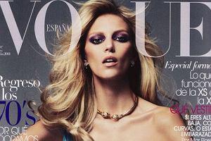 Anja Rubik na okładce Vogue